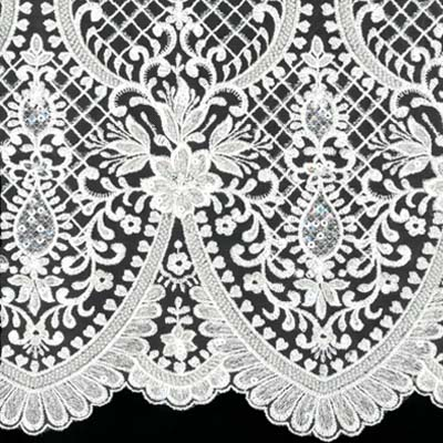 Beaded and/or Sequinned Embroideries