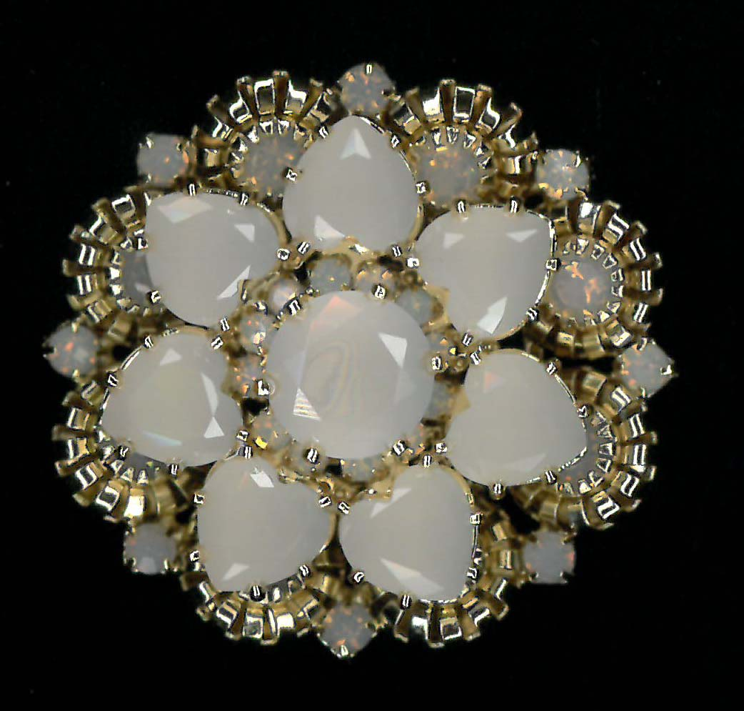 MAGNETIC BROOCH - GOLD