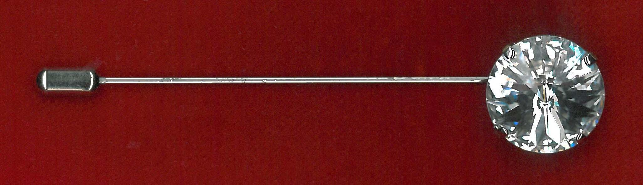 CRAVAT PIN - NICKEL