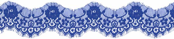 EF4010 LACE EDGING ROYAL