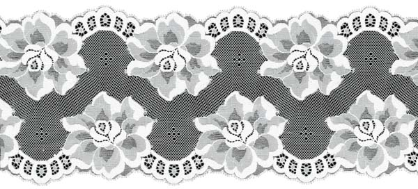 STRETCH LACE EDGING - IVORY