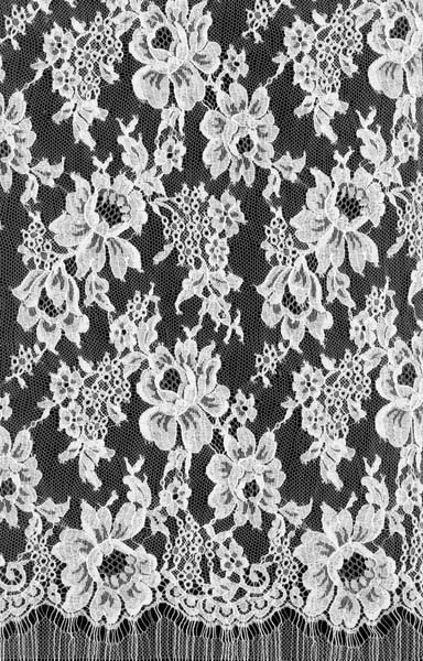 SPARKLE FRENCH LACE - 140cm IVORY