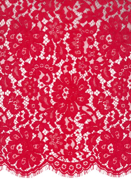FRENCH LACE - RED