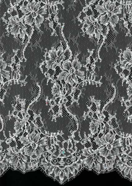 SEQUIN LACE - IVORY