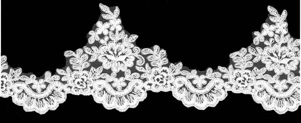 CORDED EDGING - IVORY