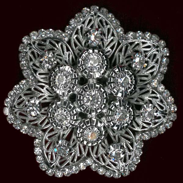 BROOCH - NICKEL