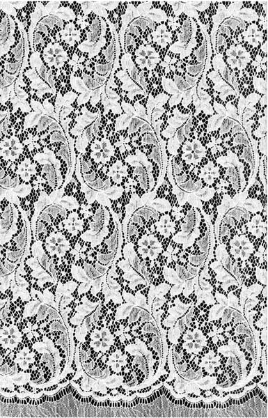 COTTON NYLON LACE - P IVORY